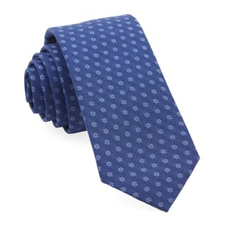 District Geo Navy Tie