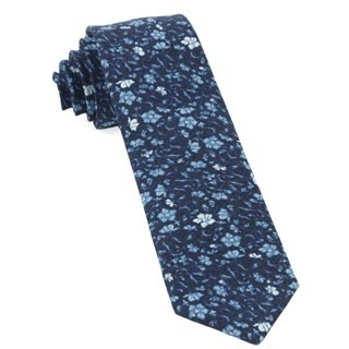 Southey Floral Navy Tie