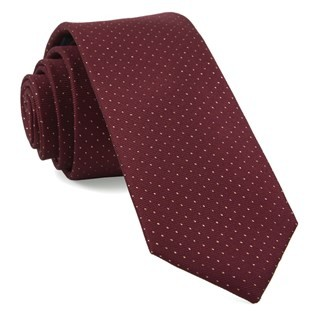 Flicker Burgundy Tie