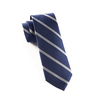 Trad Stripe True Navy Tie