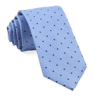 Grenafaux Dots Light Blue Tie