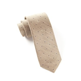 Bulletin Dot Tan Tie