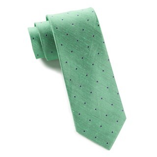 Bulletin Dot Kelly Green Tie