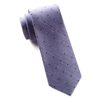 Bulletin Dot Purple Tie