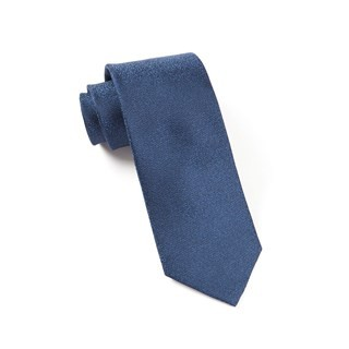 Graphite Solid Blues Tie