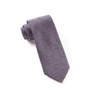 Graphite Solid Purples Tie