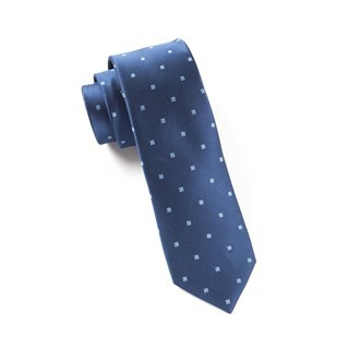 Checks & Balance Navy Tie
