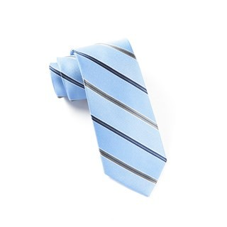 Vocal Stripe Light Blue Tie