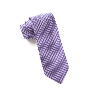 Chain Reaction Purple Tie