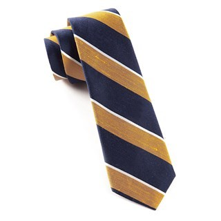 Patina Stripe Orange Tie