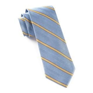 Pipe Dream Stripe Light Blue Tie