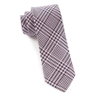 Huntington Plaid Baby Pink Tie