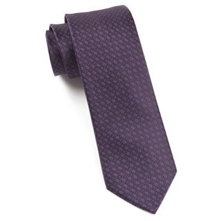 Speckled Eggplant Tie