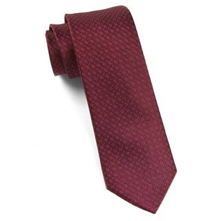 Speckled Burgundy Tie