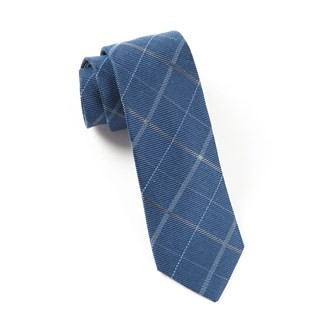 Sheridan Plaid Navy Tie