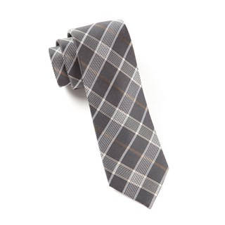 Catalyst Plaid (Fs) Charcoal Tie