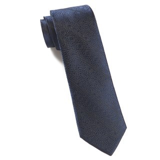 Interlaced Navy Tie