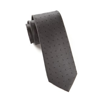 Industry Solid Black Tie