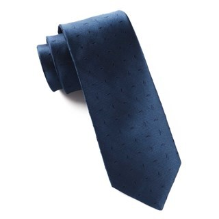 Industry Solid Navy Tie