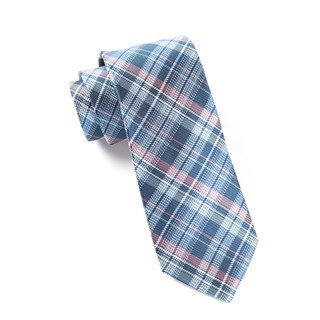 Legacy Plaid Blue Tie