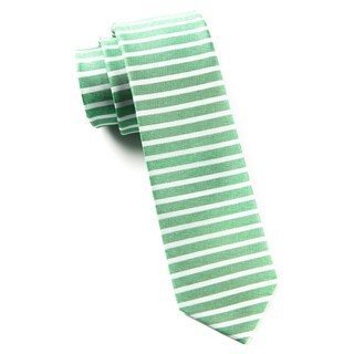 Unity Stripe Apple Green Tie