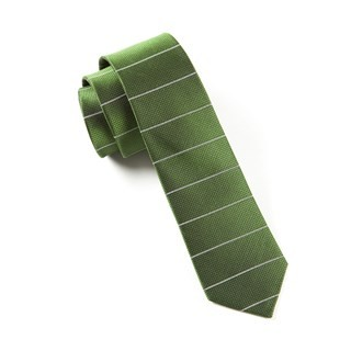 Institute Stripe Green Tie
