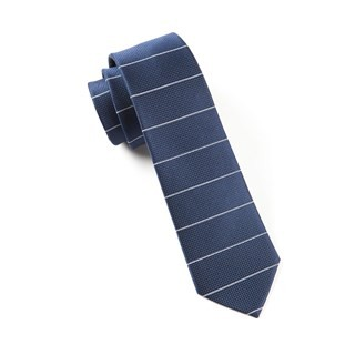 Institute Stripe Navy Tie