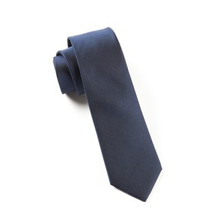 The Signature Classic Navy Tie