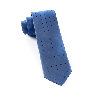 Industry Solid Denim Blue Tie
