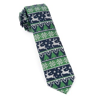 Holiday Gamer Navy Tie