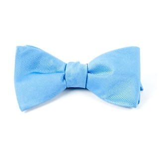 Grosgrain Solid Carolina Blue Bow Tie