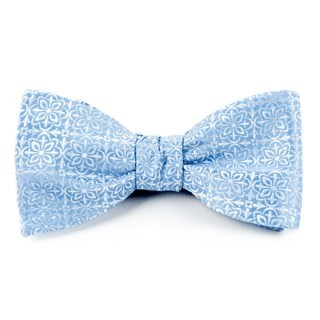 Opulent Light Blue Bow Tie