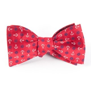 Offshore Red Bow Tie