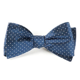 Mini Dots Classic Navy Bow Tie