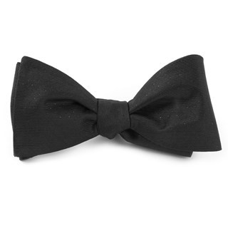 Flicker Black Bow Tie