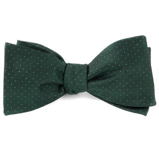 Flicker Hunter Green Bow Tie