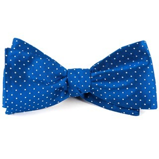 Mini Dots Royal Blue Bow Tie