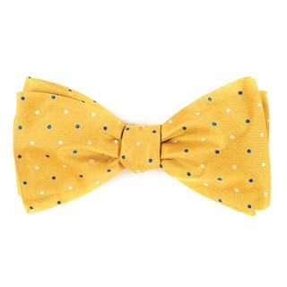 Jpl Dots Yellow Bow Tie