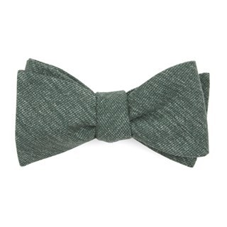 West Ridge Solid Hunter Green Bow Tie