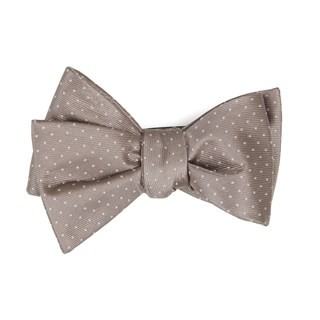 Mini Dots Sandstone Bow Tie