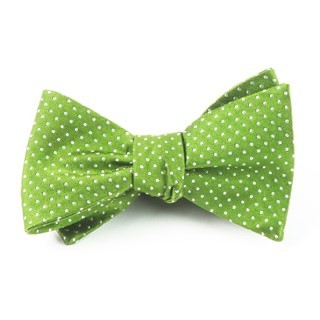 Pindot Apple Bow Tie
