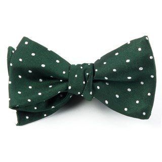 Hot Dots Hunter Bow Tie