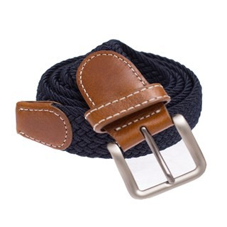 Braided Classic Navy Belt