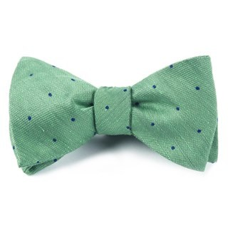 Bulletin Dot Kelly Green Bow Tie