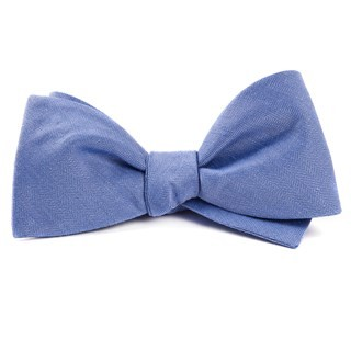 Linen Row Light Blue Bow Tie