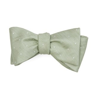 Bulletin Dot Sage Green Bow Tie