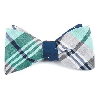 Crystal Wave Bulletin Mint Bow Tie