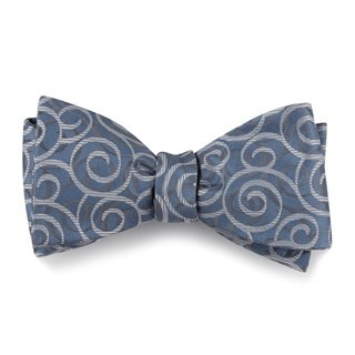 The Connecticut Slate Blue Bow Tie