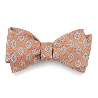 The Iowa Tangerine Bow Tie