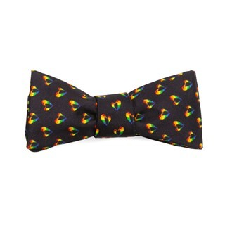 Stonewall Inn Navy Bow Tie